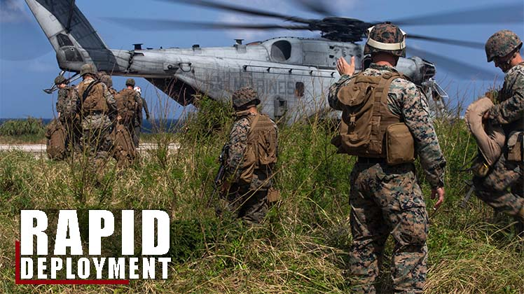 1st MAW Rapid Deployment Exercise