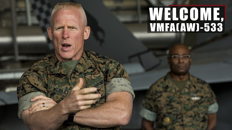 Welcome, VMFA(AW)-533!